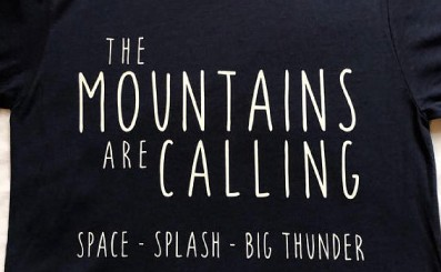 "The ""Disney"" Mountains Are Calling T-Shirt"