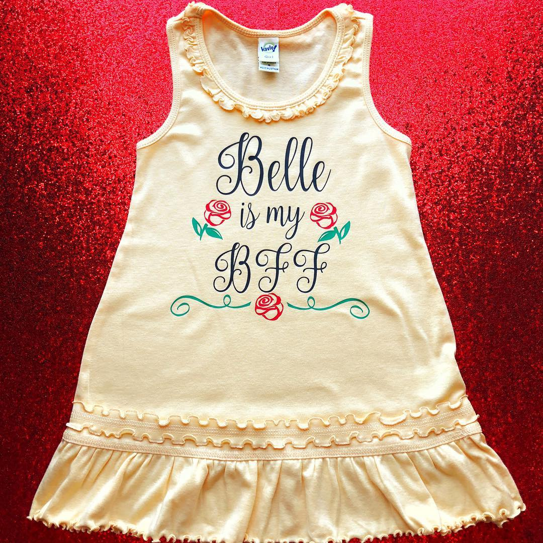 Belle is My BFF Dress