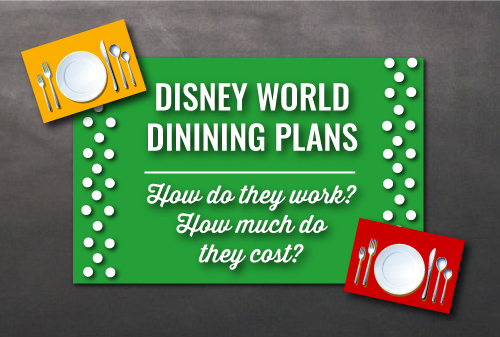 Disney World Dining Plans